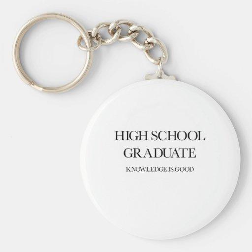High School Graduate Keychain
