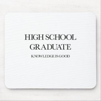 High School Graduate Mousepad
