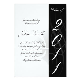 High School Graduation Invitaion 13 Cm X 18 Cm Invitation Card
