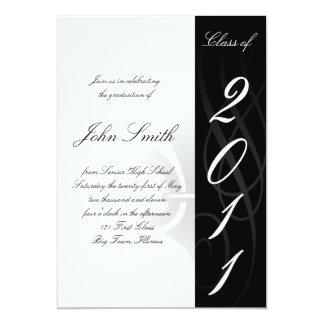 High School Graduation Invitaion 13 Cm X 18 Cm Invitation Card