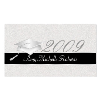 High School Graduation Name Cards - 2009 Business Card Template
