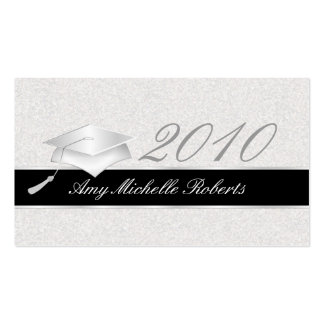 High School Graduation Name Cards - 2010 Business Card Template