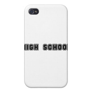 High School Cover For iPhone 4