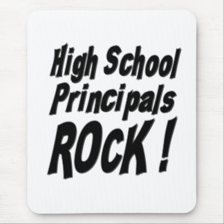 High School Principals Rock! Mousepad