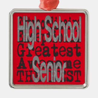 High School Senior Extraordinaire Christmas Ornament