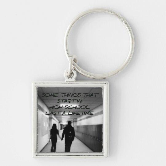 High School Sweethearts Key Ring