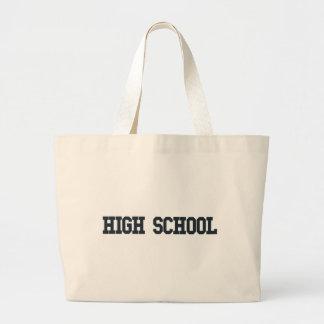 High School Canvas Bag