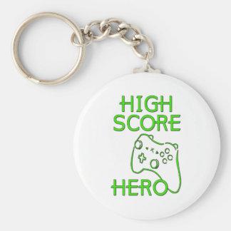 High Score Hero Key Ring