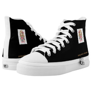High sneakers Top Small Chapis black color