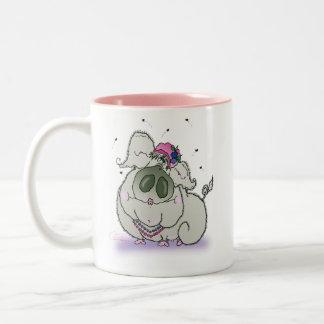 High Sow-ciety Mug - Pink