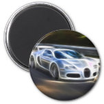High Speed Car Refrigerator Magnets