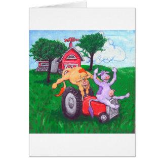 High Spirited Cows Card