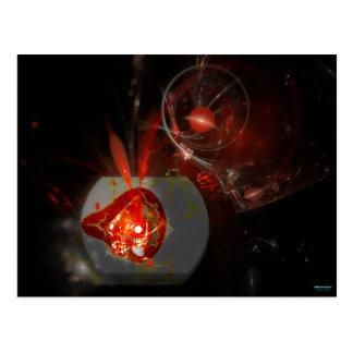 High Strangeness Nebula Postcard