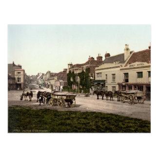 High Street, Battle, East Sussex, c.1895 Postcard