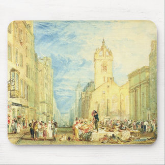High Street, Edinburgh, c.1818 (w/c, pen, ink, gra Mouse Mat