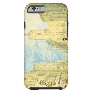 High Street, Edinburgh, c.1818 (w/c, pen, ink, gra Tough iPhone 6 Case