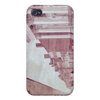 High street with the first Presbyterian Church iPhone 4 Cover