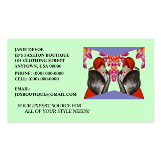 HIGH STYLE LADIES-FASHION, TAILORS BUSINESS CARDS