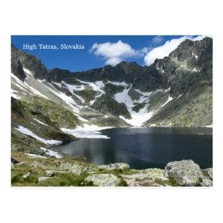 High Tatras, Slovakia Postcard