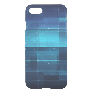 High tech background iPhone 8/7 case