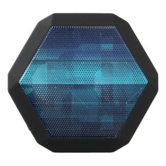 High tech digital background black bluetooth speaker