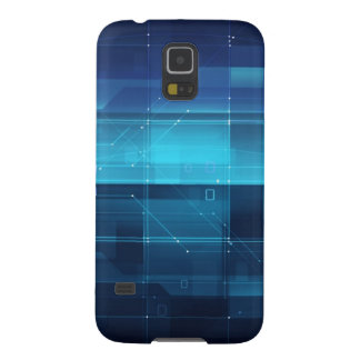 High tech digital background galaxy s5 cover
