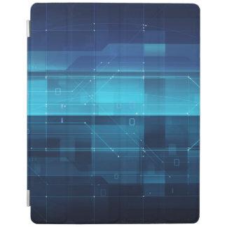 High tech digital background iPad cover