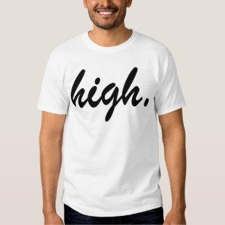 high tee shirt