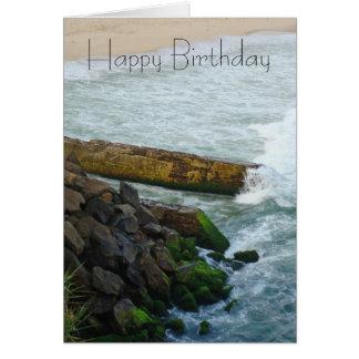 High Tide Birthday card