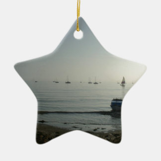 High tide, early dawn christmas ornament