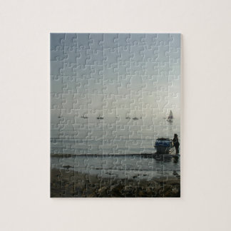High tide, early dawn jigsaw puzzles