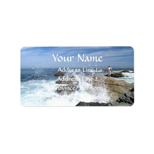 High Tide Fishing Label