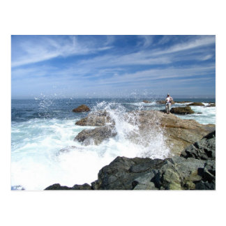 High Tide Fishing Postcard