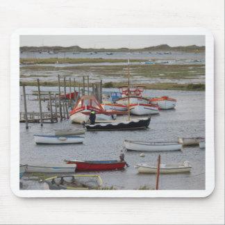 High tide, Morston, Norfolk Mouse Mat