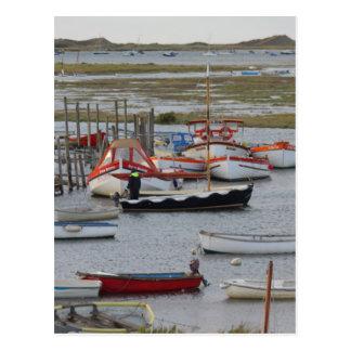 High tide, Morston, Norfolk Postcard