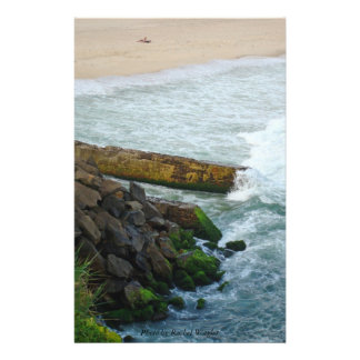 High Tide Stationary Paper Personalized Stationery