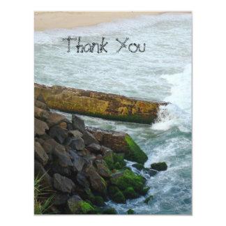 High Tide Thank you card 11 Cm X 14 Cm Invitation Card