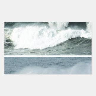 HIGH TIDE WAVES -  OCEAN BEACHES STICKERS