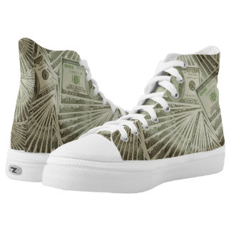 High Top Shoes Step out of the box in a pair Printed Shoes