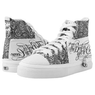 High Top Shoes VonHolm Lace Design