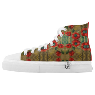 "High Tops ""Poppies"""