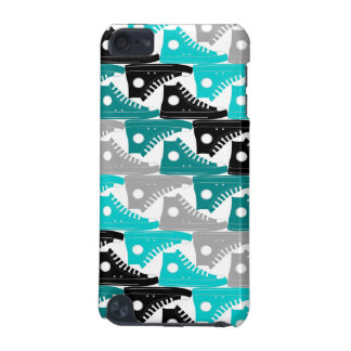 High Tops Teal-n-Black Shoes iPod Touch (5th Generation) Cover