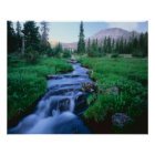 HIGH UINTAS WILDERNESS, UTAH. Stillwater Fork Poster