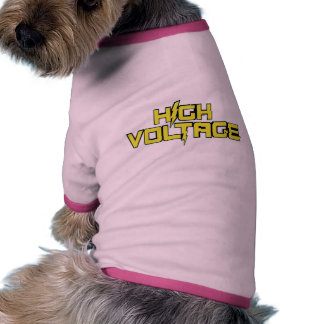 High Voltage Doggy Shirt Pet Clothes