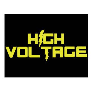High Voltage Postcard