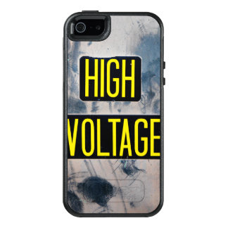 High Voltage Warning Sign - FUNNY OtterBox iPhone 5/5s/SE Case