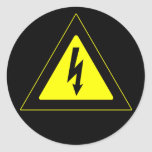 High Voltage Warning Sign Stickers