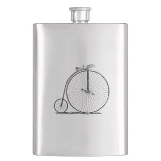 High Wheeler Victorian Penny Farthing Cycle Biking Flasks