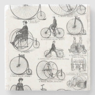 High Wheeler Victorian Penny Farthing Cycle Biking Stone Coaster