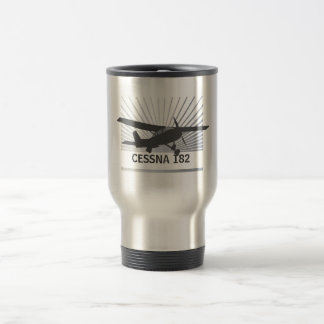 High Wing Aircraft Travel Mug